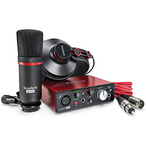 focusrite-scarlett-solo-recording-studio-kit