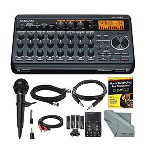tascam-dp-008ex-home-recording-studio-package